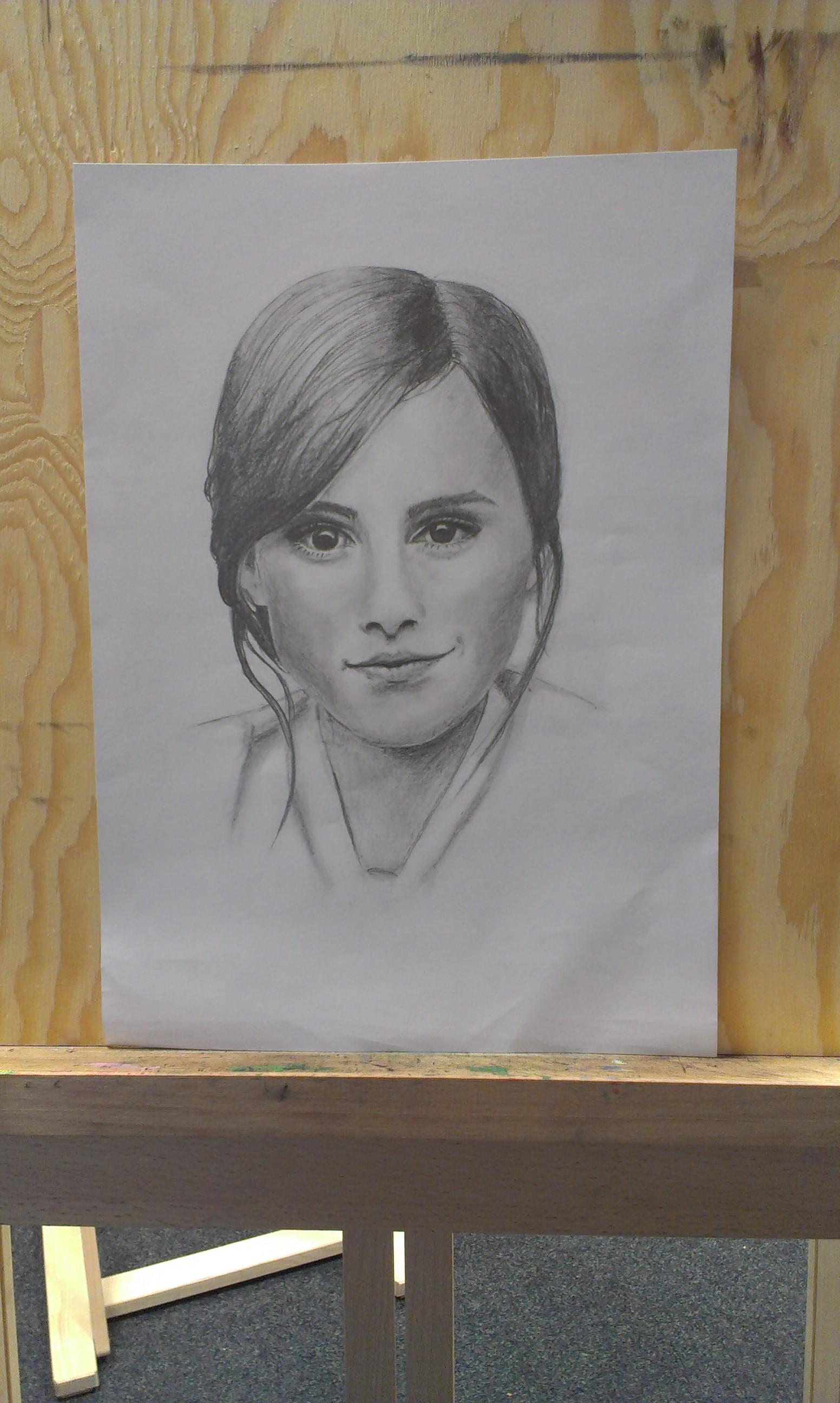 Kresba Portretu Dle Vlastni Predlohy Pro Zacatecniky Atelier