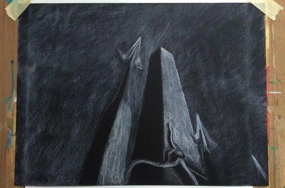 Inverzni Kresba Aneb Svetlou Na Tmavy Podklad Atelier Montmartre